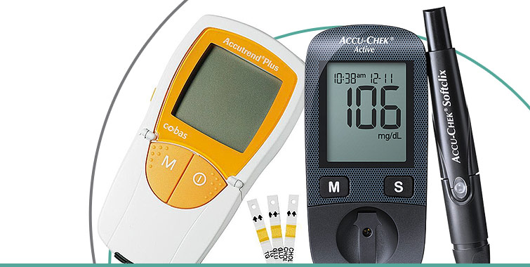 Accu-Chek®Active y Accutrend®Plus